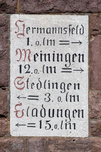 Hermannsfeld, Meiningen, Stedlingen, Fladungen