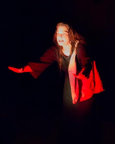 Cornelia Gutermann-Bauer als Kassandra-4