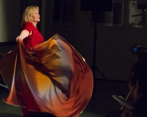 Marion Dreiner - Orientalische Tanzeinlage-2
