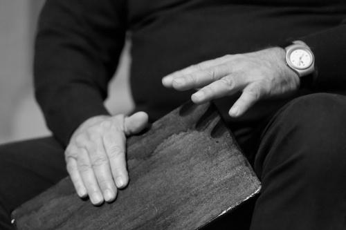 Reza Baygan - Schlagzeug-Eigenbau