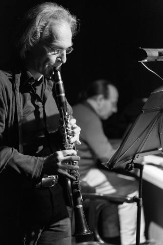 Marcus Plath (Klarinette) und Manuel Mendez (Klavier)