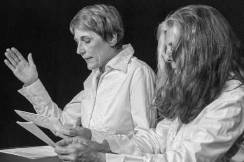 Sabine Scholz und Ulrike Happel