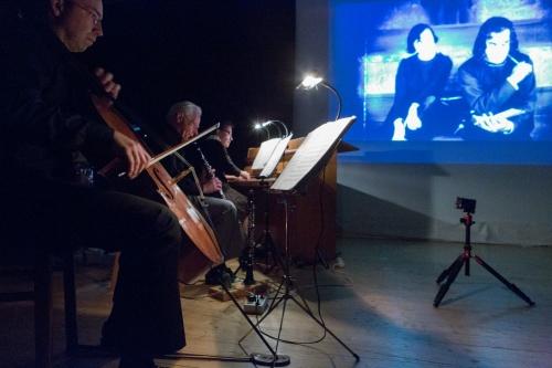 Cello, Klarinette, Klavier, Film