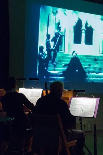Klavier, Klarinette, Film