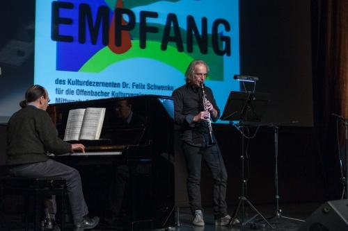 Manuel Mendez und Marcus Plath spielen Robert Schumann