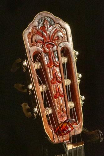 Wirbel der Gitarre