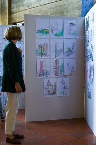 ASRM - Architekten zeichnen; Bilderflut - Vernissage-4