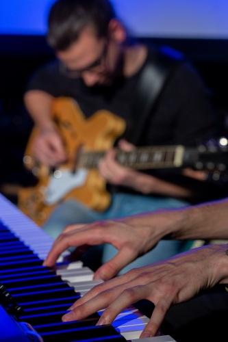 Session- Sebastian Bender Gitarre, Sascha Schirrmacher Klavier