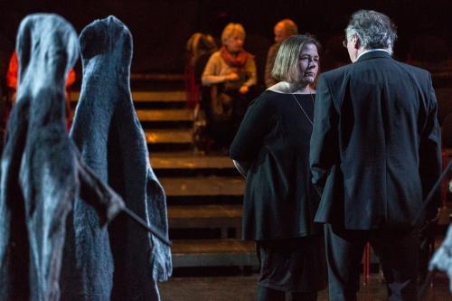 Ulrike Streck-Plath (Kuenstlerin), Winfried Becker (GallusTheater)