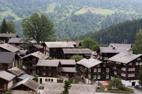 Dorfansicht von Sueden