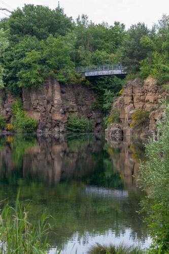 Bruecke am Vogelsberger See