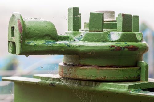 Weinpresse - Detail
