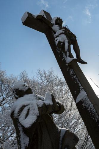 Figurengruppe auf dem Battenstein