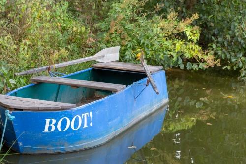 BOOT! - BLAU!