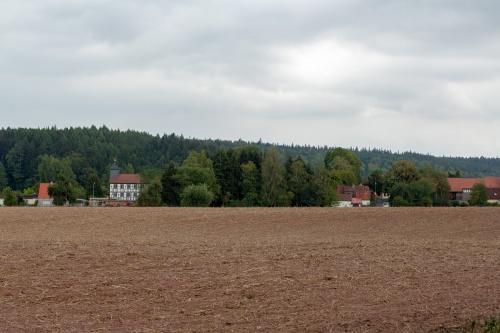 Dorfsicht Weimarschmieden von Nordwest