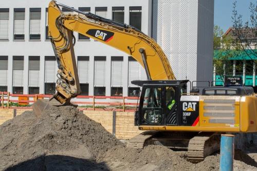 Sand auf der Baustelle