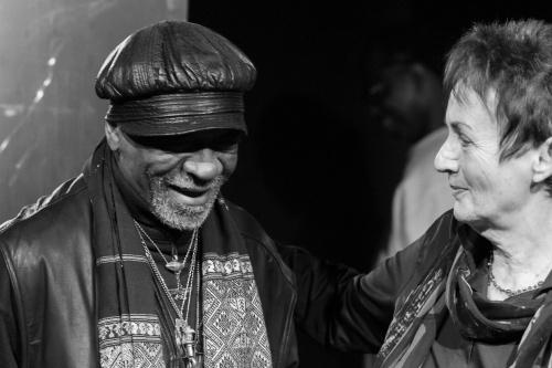 Muepu Muamba und Elisabeth Uloth