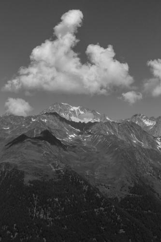 Gebirgs-Wolke